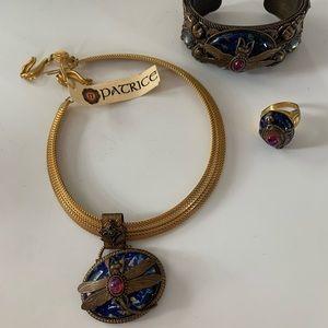 Jewelry - Patrice dragonfly three piece set
